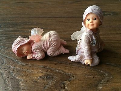 (2) The Boyds Collection Faerietots Figures Dreamy & Sweet Pea
