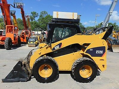 """2010 Cat 272C Turbo 2 Speed Xps High Flow  """"air Conditioned""""  New Tires -"""