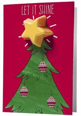 *NEW* Bomb Cosmetics Bath Bomb Christmas Card Xmas Seasonal Gift