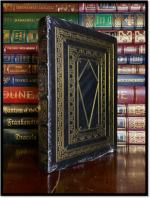 Dracula and Frankenstein by Stoker & Shelley New Leather Bound Collectible Set
