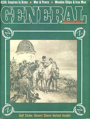 GENERAL Vol.26 No.6 Avalon Hill, Gulf Strike Desert Storm, Empires in Arms, W...
