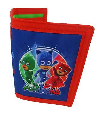 Disney Pj Masks 'It' S Time To Be A Hero' Trifold Wallet Brand New Gift