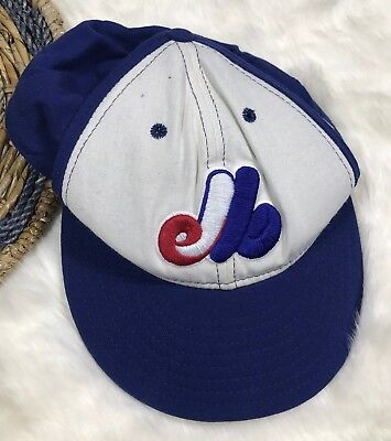 New Era MLB Cooperstown Montreal Expo Red Blue Baseball Cap