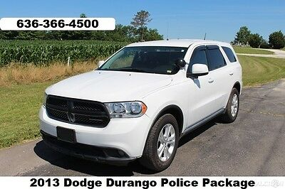 2013 Dodge Durango Special Service 2013 Special Service Used V6 Suv AWD Police Tahoe Durango fleet