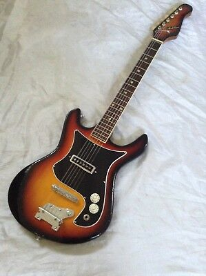 1960's / 70's Teisco Electric Guitar, Short Scale. Japan. Stunning Condition!