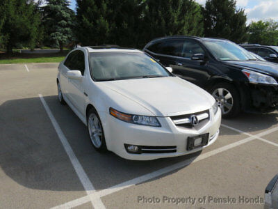 2008 Acura TL 4dr Sedan Automatic 4dr Sedan Automatic Automatic Gasoline 3.2L V6 Cyl White Diamond Pearl