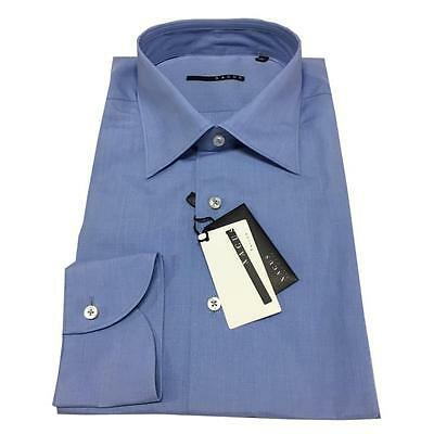 XACUS men's shirts baby blue 300 100% cotton