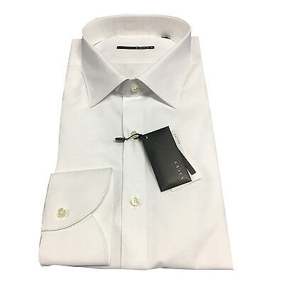 XACUS men's shirts white 51161.001 100% cotton