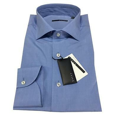 XACUS men's shirts baby blue 200 100% cotton