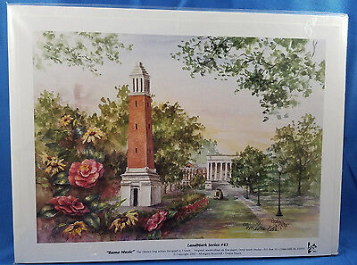 """Print - Limited Edition """"Bama Music"""" - Donna Peters.Signed and numbered.Vtg 2002"""