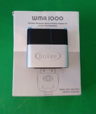 Bovee ViseeO WMA1000 Wireless Bluetooth Music Interface Adaptor for in car iPod