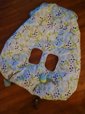 Cute shopping cart cover baby lightly used