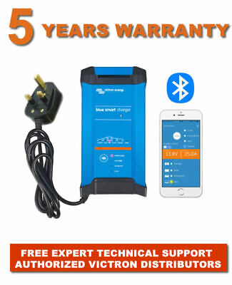VICTRON BLUE SMART BLUETOOTH 24V BATTERY CHARGER IP22 16A 1 Out FREE Delivery