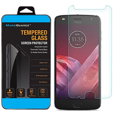 Premium Tempered Glass Screen Protector Film For Motorola Moto Z2 Play
