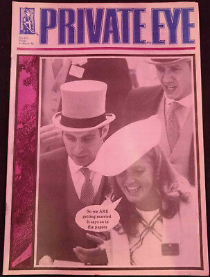 Private Eye Magazine #633, 1986, 21 March #B463