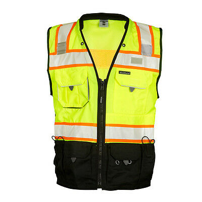 ML Kishigo S5002 Class 2 Lime Surveyors Vest