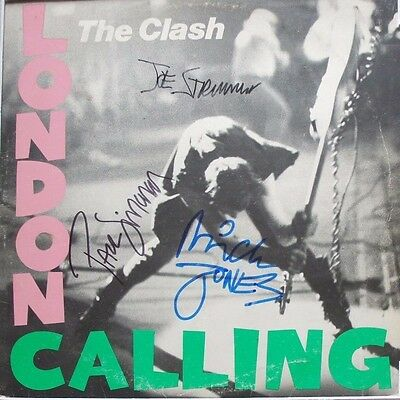 *REDUCED* The Clash - London Calling - Authentic Fully Signed Autograph Album LP