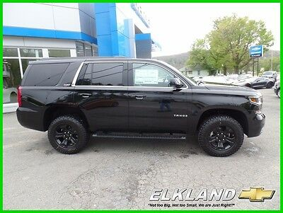 2017 Chevrolet Tahoe Midnight Edition Z71 4x4 Navigation MSRP $59875 NEW Midnight Tahoe Z71 4x4 Black Leather Heated Seats NAV