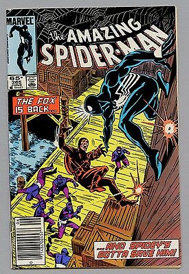 The Amazing Spider-Man #265 Marvel Comic Book vg / fn   Newsstand