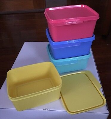 Tupperware Tabs Containers Set Of 4