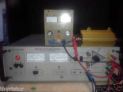 Kepco BOP72-5M TESTED! Bipolar Power Supply/Amplifier 72V 5A 20 kHz @ full PWR