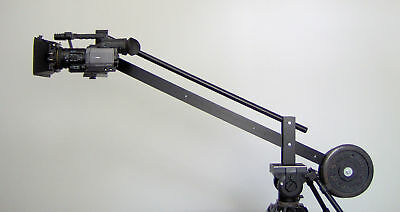 "Compact Camera Jib Crane for Video Film with 7"" LCD"