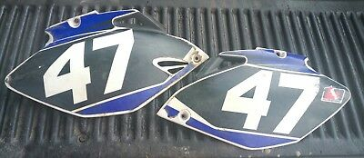 2006 Yamaha YZ250F YZ450F Left & Right Side Covers Plastic Panels YZ F