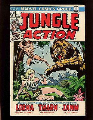 Jungle Action #1 FNVF Buscema Roth Maneely Shores Lorna Jann Tharn Dinosaurs