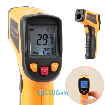 -58℉-1112℉ Non-Contact LCD IR Laser Infrared Digital Temperature Thermometer Gun