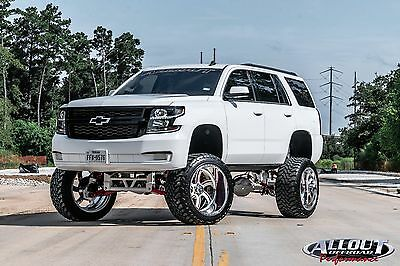 2015 Chevrolet Tahoe  2015 Custom Lifted SEMA Chevy Tahoe