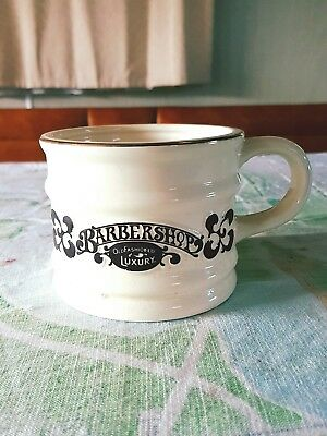 Vintage Shaving Mug - Franklin Toiletry Co - Barbershop Old Fashioned - MINT CON