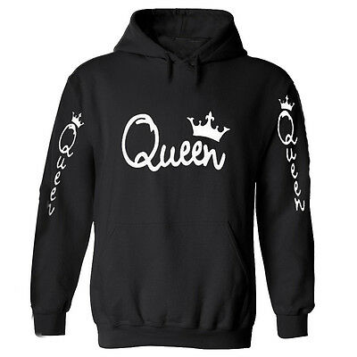 Couple Hoodie - King And Queen His and Hers - Couple Matching Hoodie Queen S