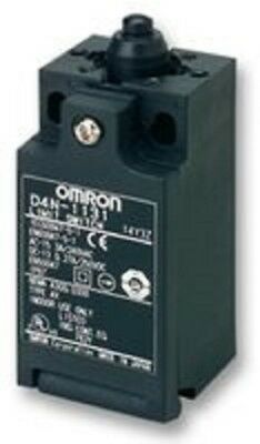 "Omron D4N-2131 Safety Limit Switch - New in Box ""GONE NUTS SALE"""