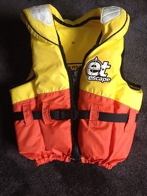 Life jacket Watersport Boat PFD Type1 Childs Extra Small 22 To 40kg EX Condition