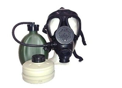 Israeli M-15 Gas Mask with Nato Filter and Hydration Canteen Without Cover