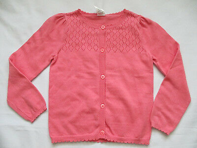 NWT Gymboree Girl's Pink Pointelle Cardigan Sweater Size 4T