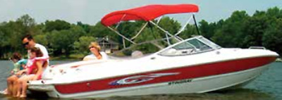 """Boater Sports BS306-BKA 3 Bow-46""""x72"""" Top W/Boot 91""""-96""""Beam Black w/o Frame MD"""