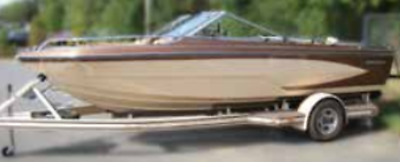 """Boater Sports B10168-MR Euro V-Hull With I/O Boat Cover 22""""x 96"""" Mt. Rock MD"""