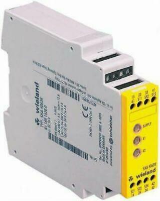 Wieland Safety Relay 3NO/1NC 110V Monitor Reset - New in Box- R1.188.1420.0