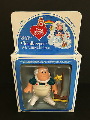 Vintage 1980's Kenner Care Bears Figure: Cloudkeeper NRFB