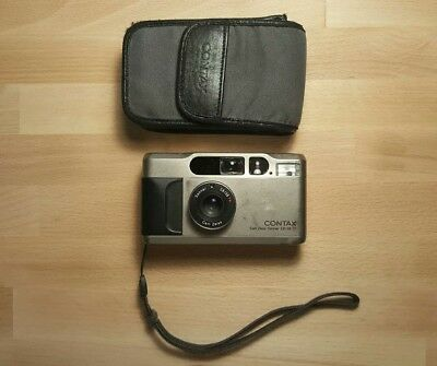Contax T2 35mm Point & Shoot Film Camera (Fully Tested)
