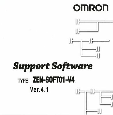 Omron ZEN-SOFT01-V4 PLC Programming Software - New in Box- ZEN-SOFT01-V4