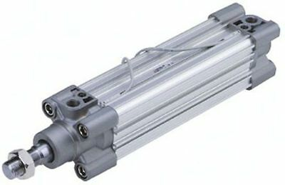 SMC Double Action Pneumatic Profile Cylinder 50 mm Bore, 160 mm stroke