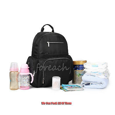 Functional Mummy Diaper Backpack Large Capacity Maternity Nappy Baby Travel Bag
