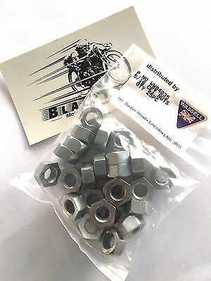 "Cycle Thread Nuts CEI 26 TPI x 5/16"" Triumph Norton BSA 25 Pack"