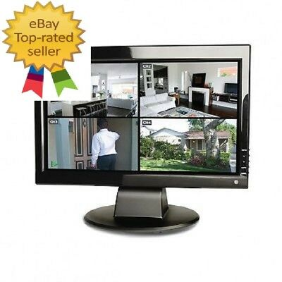 """New Swann 15"""" TFT LCD Crystal Clear Colour Monitor (HDMI input)"""