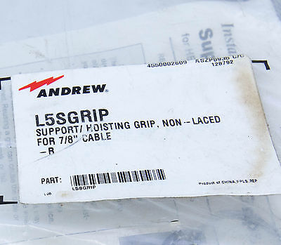 "L5SGRIP Support Hoisting Grip for 7/8"" Heliax Coaxial Cable, Andrew / Commscope"
