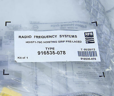 """Radio Frequency Systems RFS Hoisting Cable Wire Grip 7/8"""" Type 916535-078"""