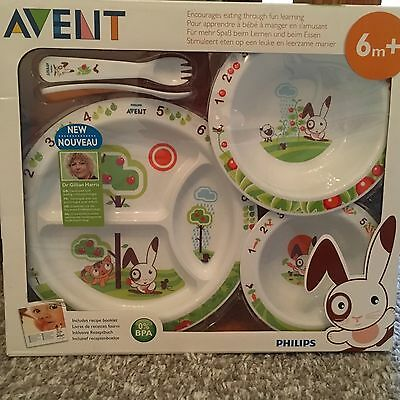 Baby Avent dinner/feeding set lovely gift