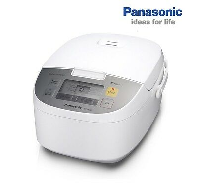 Panasonic SR-ZE105WSTM 10 Cooking Programs LCD Screen Rice Cooker